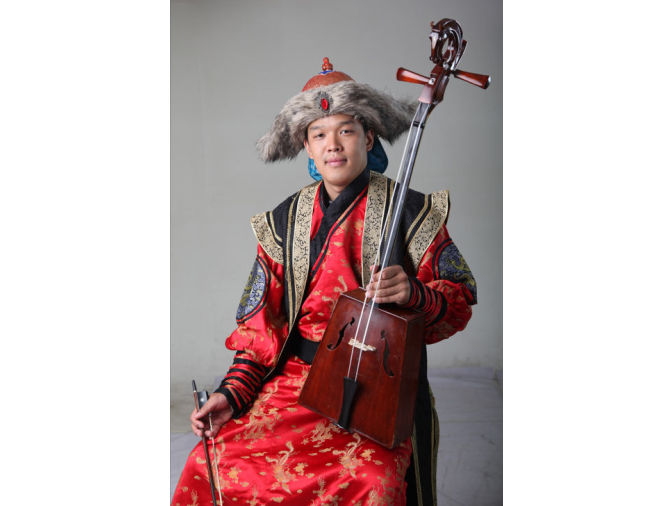Mongolische Livemusik im November